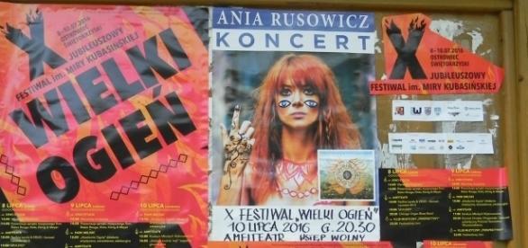 W Ostrowcu Świętokrzyskim trwa festiwal Wielki Ogień. Fot. K.Krzak