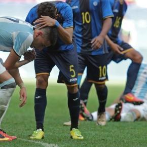 El equipo del Vasco Olarticoechea se despidió rápidamente de la competencia olímpica