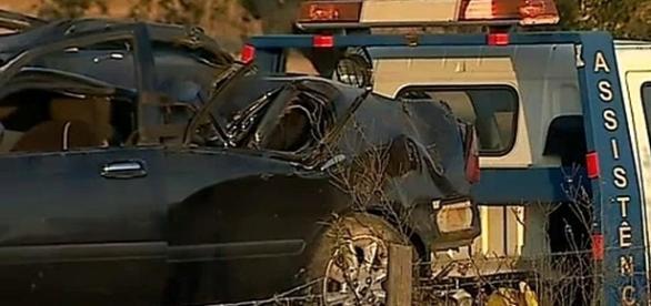 Automóvel despistou-se quando viajava do Algarve para o Norte