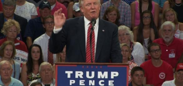Trump, on defense, blames media for Second Amendment flap - ap.org