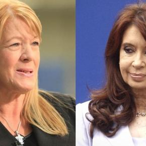 Margarita Stolbizer y Cristina Fernández de K
