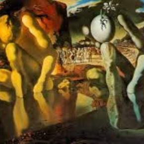 "Dali's ""Metamorphosis of Narcissus"" Tate Museum Creative Commons"