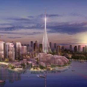 The Tower at Dubai Creek Harbour/ Rendering via Emaar
