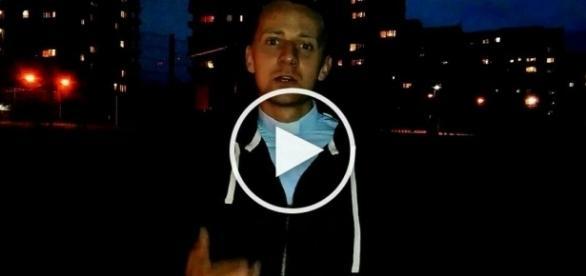 Ksiądz Jacek Międlar - kadr z portalu YouTube
