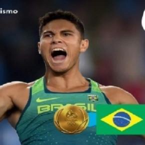Atleta conseguiu mais um ouro para o Brasil