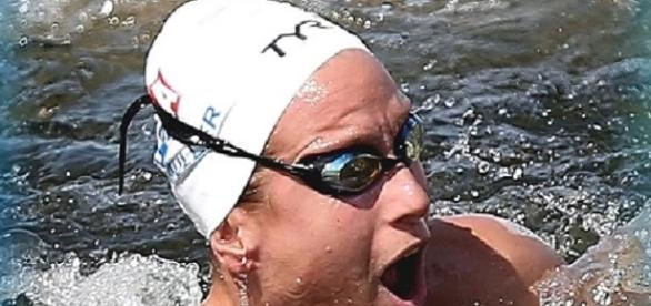 Scandal la Rio. Înotătoare din Franța descalificată