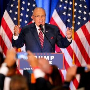 Giuliani, backing Trump, appears to briefly forget 9/11 - Houston ... - houstonchronicle.com