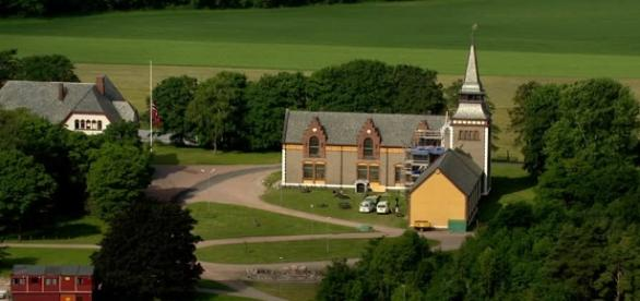 Most beautiful prisons - Source: footage.framepool.com/en/shot/723327395-bastoy-vestfold-prison-church