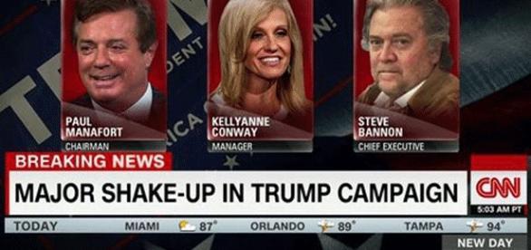 Steve Bannon, un clone de Trump, évince Paul Manafort dans l'équipe du candidat républicain