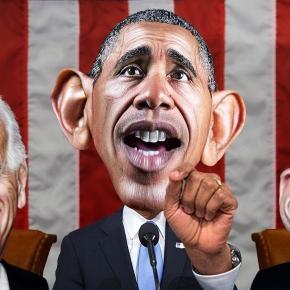 Flickr image of VP Biden, Pres Obama and Speaker Ryan
