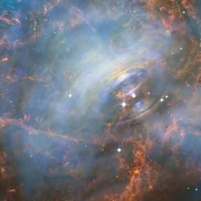 Hubble Captures the Beating Heart of the Crab Nebula - SpaceRef - spaceref.com