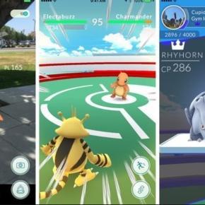Imágenes de escenas en Pokemon Go
