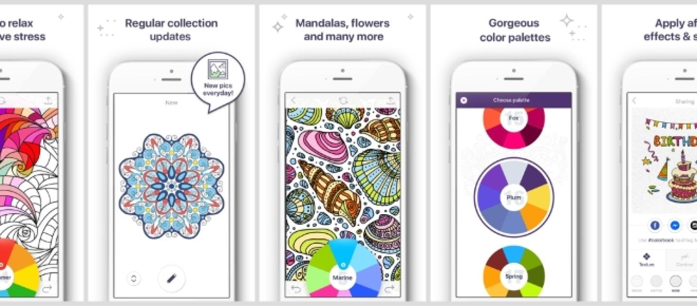 Color book for me - Apalon Apps Releases Coloring Book For Me