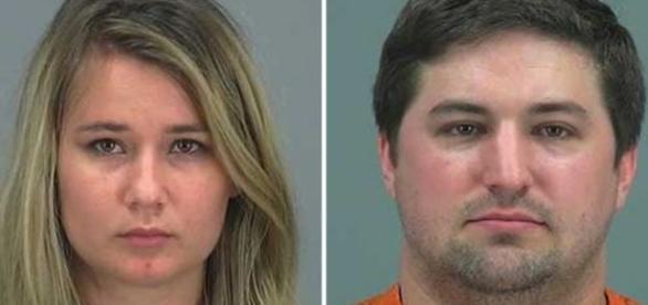 Brianne Daley și Brent Daley au fost arestați pentru că și-au abandonat copilul. Foto: Departamentul Șerifului din Pinal County