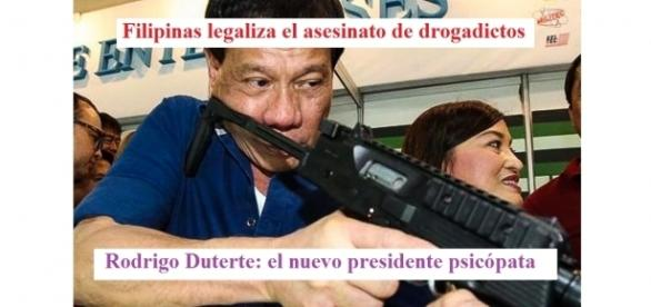 Resultado de imagen de Rodrigo Duterte: la Violencia como Me
