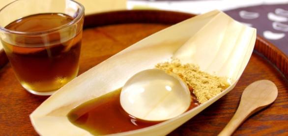 Shingen Mizu Mochi, chiamato anche Water Cake, spopola in America e in Europa