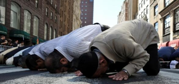 Muslims praying/Photo via support-healer.com