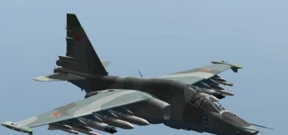 Pozițiile jihadiștilor sunt bombardate de avionul rusesc