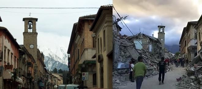 Sigue temblando la tierra en Italia