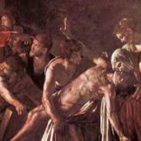 "Caravaggio's ""Raising of Lazarus"" jeffangiegoh.com Creative Commons"