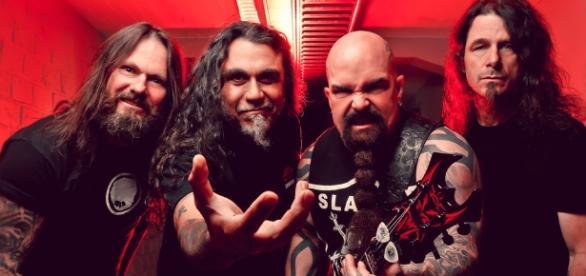 Thrash metal band Slayer / Photo creative commons sourced via Blasting News Library