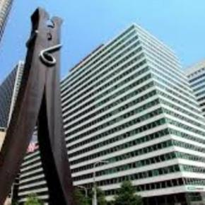 "Claes Oldenburg's ""Clothespin"" fineartamerica.com Creative Commons"