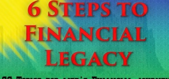 """Charles Marsala's book """"6 Steps to Financial Legacy"""" covers 66 topics on life finances / image used with permission by Charles Marsala"""