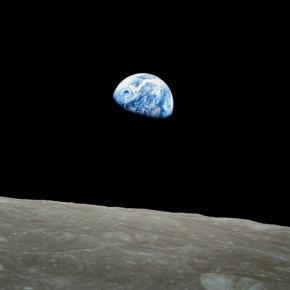 Earth as seen from the moon. NASA / Bill Anders, Wikimedia Commons.