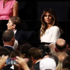 Donald Trump's son Barron supports him at his RNC speech | Daily ... - dailymail.co.uk