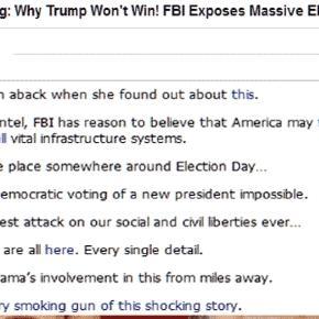 Explicites ou plus subtils, des sites renforcent les propos de Trump dénonçant un complot contre lui