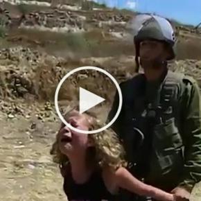 Izraelscy żołnierze znęcają się nad dziećmi