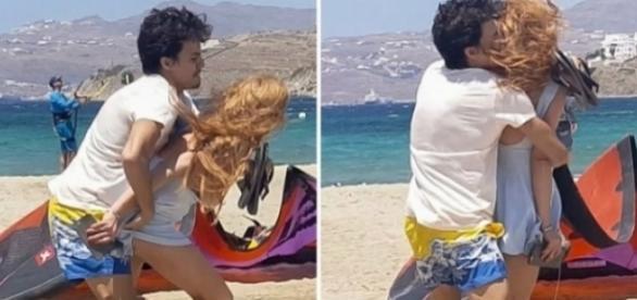Lindsay Lohan, agresată în public
