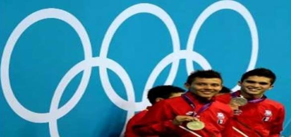 Los monstruos olímpicos mexicanos.