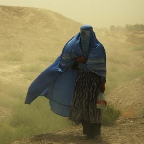 Captive Muslim women burn burkas / Image via Dirk Haas/Flickr