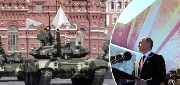 Putin masează tancuri la granița Europei stârnind temeri pentru o invazie masivă