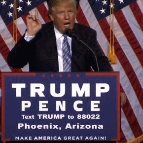 Plus Trump exagère, moins Mike Pence, son colistier, se risque à s'exprimer