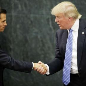 The Latest: Mexican president contradicts Trump on wall ... - fairfieldcitizenonline.com