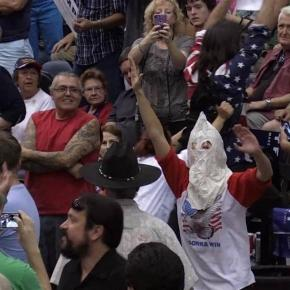 Man in Klan Outfit Disrupts Trump Rally - NBC News - nbcnews.com