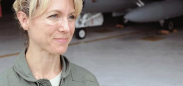 Heather Penney est passée major dix ans après le 11 sept. 2001 (photo PR National Guard - U.S. of A.)
