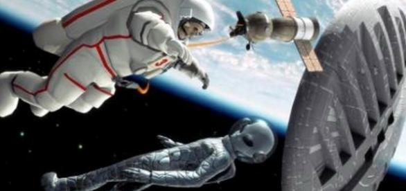 Intalnire dintre extraterestri si pamanteni