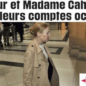 Patricia Menard-Cahuzac (au centre) a contredit les versions de son mari, Jérôme Cahuzac