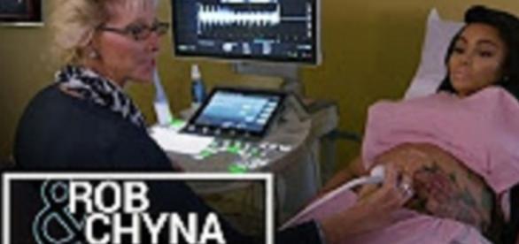 "Youtube still: ""Rob & Chyna | Rob Kardashian & Blac Chyna Reveal the Sex of Their Baby"" E! Entertainment channel"