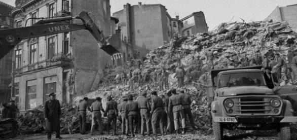 Cutremurul din 1977 produs in Romania