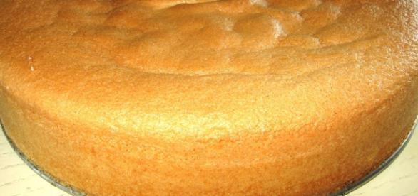Un pan di spagna molto speciale.