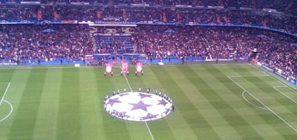 O Santiago Bernabéu é o palco do Real Madrid-Sporting