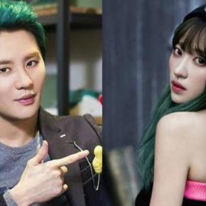 Junsu from DBSK and Hani from EXID decided to go on different paths / Photo by kpopfighting.com