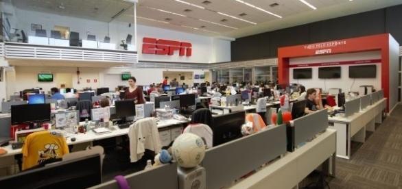 Há várias vagas para a redação da ESPN e outros setores da emissora.