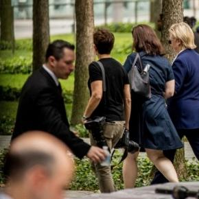 Clinton falters at 9/11 memorial; doctor says she has pneumonia ... - columbian.com