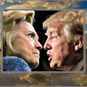 Donald Trump and Hillary Clinton see the Twitter tide change! Photo: Blasting News Library- Free images on Pixabay - pixabay.com