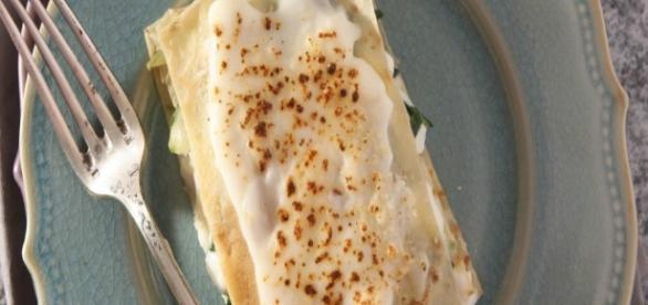 Lasagna Con Crema di fontina, deliziosa!
